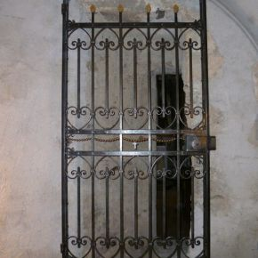 Gate at the Sanctuary of Becetto